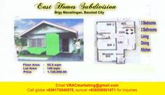 East homes 3 bedroom house for sale Mansilingan Bacolod City