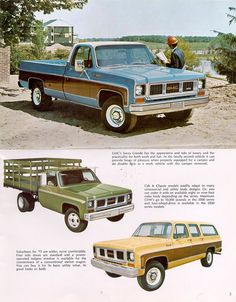 1973 gmc pickups | 1973 Chevrolet and GMC Truck Brochures/1973 GMC Pickups & Suburbans-03 ...