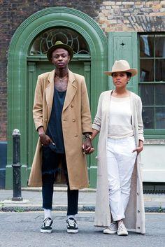 London Couples Street Style