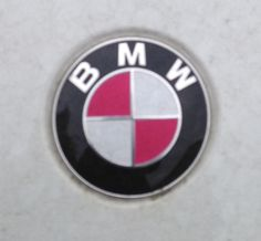 We took this (blurry - apologies!) photo of a BMW with a...
