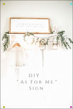 This sign is a knock off from a similar Magnolia one. Joshua makes a beautiful DIY sign. Diy Projects For Beginners, Cool Diy Projects, Farmhouse Style Decorating, Decorating On A Budget, Farmhouse Decor, Diy Party Decorations, Easy Diy, Fun Diy, Diy Home Decor