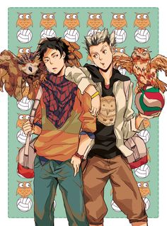 Akaashi and Bokuto