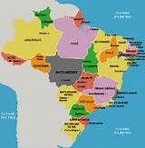 Mapa dos Estados do Brasil - Turismo e Cultura no Brasil
