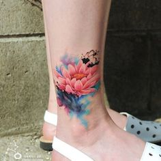 Not my favorite place for s tattoo but the image is really nice