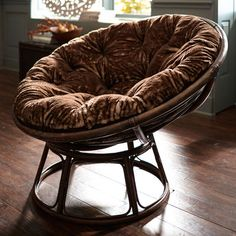 Papasan Taupe Chair Frame Room Inspiration Pinterest