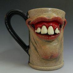 The Big Smile Mug- for sale on Etsy by thebigduluth.deviantart.com on @deviantART