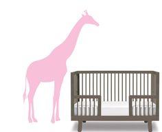 Kids children's vinyl wall decal Cute Giraffe You by wallinspired, $75.00