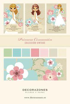 Decorazones_ Primera comunión, Colección Vintage: