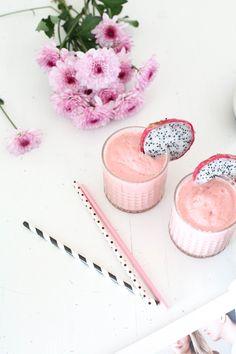 Watermelon vanilla smoothie