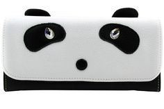 ArtsEye Genuine Leather Cute Panda Envelop Wallet Clutch ** Special  product just for you. See it now! : Handbag Wallets