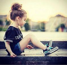 Gorgeous little girl.