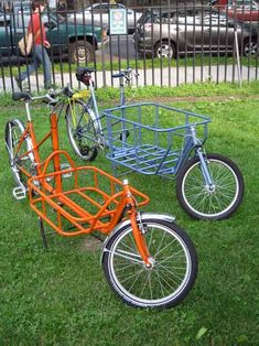 bikecult/bikeworks nyc/archive bicycles/bologna cargo Tricycle Bike, Adult Tricycle, Trike Bicycle, Bicycle Decor, Bicycle Art, Cool Bicycles, Cool Bikes, Bike Cargo Trailer, Three Wheel Bicycle