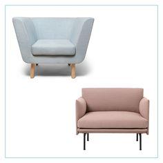 Heute ist wieder Meinungsmittwoch! Daher möchten wir von euch wissen, welcher Sessel euch besser gefällt: der türkise Nest Sessel von Design House Stockholm oder der rosane Outline Sessel von Muuto. Wir sind gespannt☺️ Diese und viele weitere Modelle findet ihr bei Flinders!