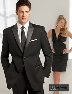 Peak Lapel Two Button Tuxedo Suit Slim Fit