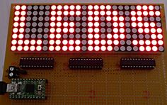 Matrix & Sprite Arduino Libraries, for a many-LED display!
