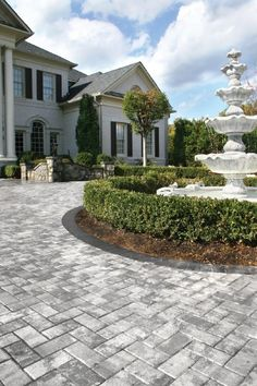 Your driveway is more than just a place to park your car; it is the entrance to your home, leading the eye from the street to your front door. You want to make a good impression and our beautiful stone, stamped concrete or brick pavers will add to your home's curb appeal.