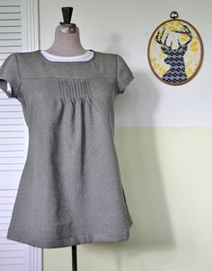 Tunic top made by Little Green Frog - pattern from Ottobre 2008-05 #01