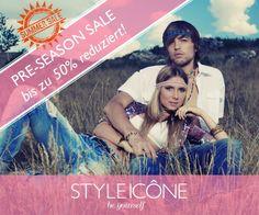 YIPPIEEE! Der Pre-Season Sale hat heute bei STYLEICONE.com gestartet und es gibt bis zu 50% RABATT auf aktuelle Saisonkollektionen! #sale #designer