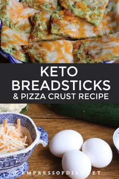 These cheesy keto breadsticks offer a low-carb way to substitute bread or pizza crust. With just a few simple ingredients—cauliflower, cheese, eggs, and herbs—you can whip up a batch and dig in with your dipping sauce. Low Carb Recipes, Healthy Recipes, Fast Recipes, Low Carb Bread, Keto Bread, Bread Alternatives, Easy Homemade Recipes, Crust Recipe, Food Videos