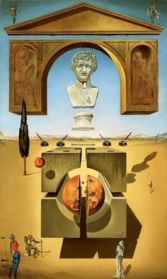 Dalí i Domènech, Salvador Dematerialization Near the Nose of Nero