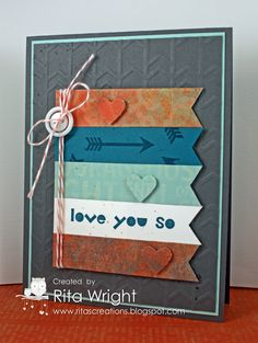 Stampin' Up! Geometrical Love