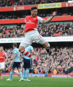 Olivier Giroud of Arsenal FC