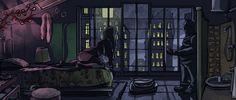 La nuit à l'envers par Yohan Monange