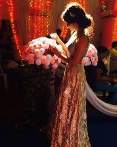 Shivangi looking good Bollywood Dress, Bollywood Girls, Stylish Girls Photos, Stylish Girl Pic, 15 Dresses, Bridesmaid Dresses, Wedding Dresses, Casual Frocks, Designs For Dresses