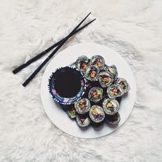 Can you call it sushi if it has neither rice nor fish in it? | blueberryboost