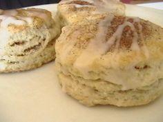 Cinnamon Glazed Biscuits