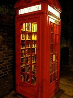 phone boxes flooded - Google Search Boxes, Google Search, Phone, Red, Home Decor, Crates, Telephone, Decoration Home, Room Decor