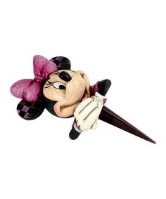 Look what I found on #zulily! Jim Shore Minnie Mouse Planter Stake by Jim Shore #zulilyfinds