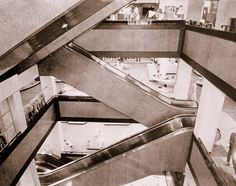 """One of my best childhood memories is our visits to the """"big"""" stores of Stuttafords, O.K. and Garlicks with their escalator towers that seemed to reach up to the heavens.For a country bumpkin like me, just to """"ride"""" up five or six floors was an experience in itself. During Christmas these shafts were transformed into magic wonderlands with giant decorations stretching over all six floors."""