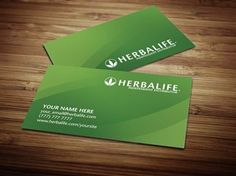 Herbalife Business Cards From Tank Prints Represents Your Personal Identity Company Nutrition