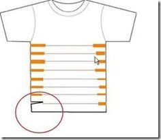 O colar de tecido que já foi uma camiseta