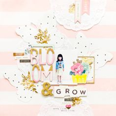 Maggie Holmes Design Team : Bloom & Grow | JCCHRIS #sizzix