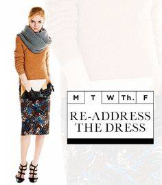 Readdress the dress young professional fashion