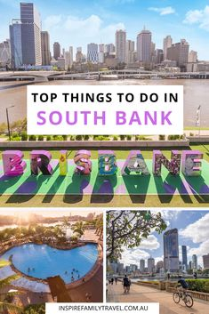 Situated on the southern banks of the Brisbane River is an inner-city oasis. Find here the top things to do in South Bank Brisbane, Queensland, Australia. ** #familytravel #australia #queensland Pinterest Image credit – Tourism & Events Queensland Brisbane River, Brisbane Queensland, Queensland Australia, Gold Coast Theme Parks, Things To Do In Brisbane, Kakadu National Park, Australia Travel Guide, International Travel Tips, Mexico Travel