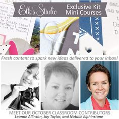 Exclusive Kit Mini Course - October 2015