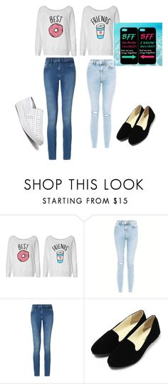 """""""me and dorine"""" by karinekezimana ❤ liked on Polyvore featuring New Look, Calvin Klein and Steve Madden"""