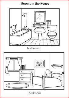kleurplaat woonkamer | coloring pages | Pinterest | Coloring books ...