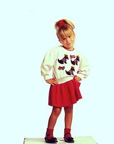 Ashley Fuller Olsen as Michelle Tanner Photoshoot