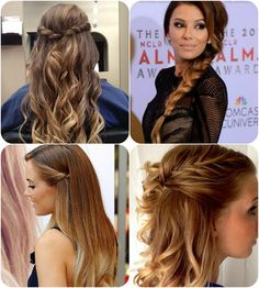 New Hair Colors 2014: Sombré for a Softer Transition Braided Hairstyles in Sombré hair colors