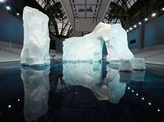 Under the directives of Lagerfeld and his in-house creative team, Villa Eugenie flew in 35 ice sculptors, who spent six ...