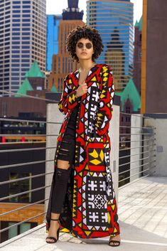 Africa fashion which looks gorgeous! African Print Dresses, African Print Fashion, Africa Fashion, African Fashion Dresses, Fashion Outfits, Long African Dresses, African Outfits, Ankara Fashion, Tribal Fashion