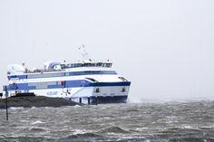 Stormy weather MS Vlieland @rederijdoeksen 13-09-2017