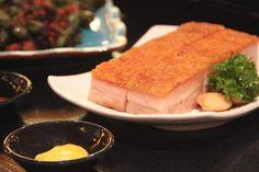 Yummy roast pork noodles at Congee Corner Hotel Grand Lisboa in #Macau. Photo: David Burden