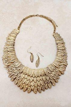 Necklaces | Golden Athena Statement Necklace | Emma Stine Jewelry Necklaces