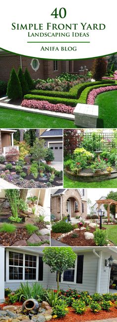 impressive front yard landscaping desing and ideas you will love #garden #landscaping #frontyard #homedecor