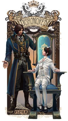dishonored corvo and emily - Google Search